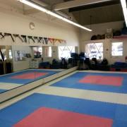 Trainingsfläche des Dojo von Oshiro Shihan