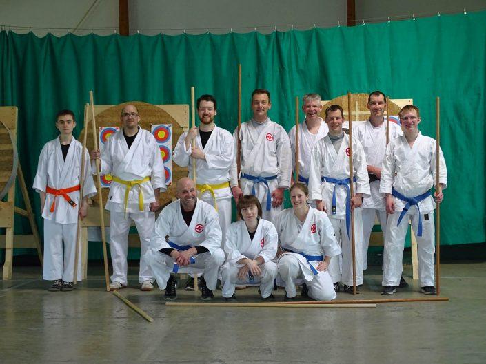 Teilnehmer der Challenge